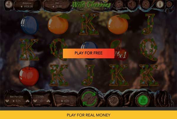 Wild Cherries Slot Machine