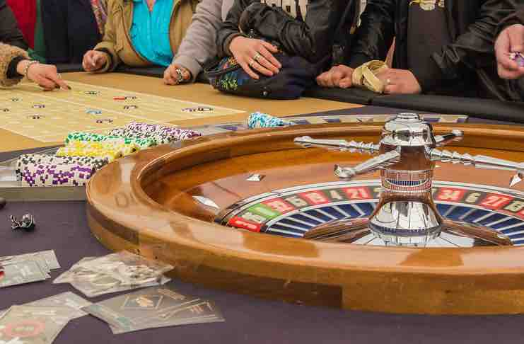 roulette and poker
